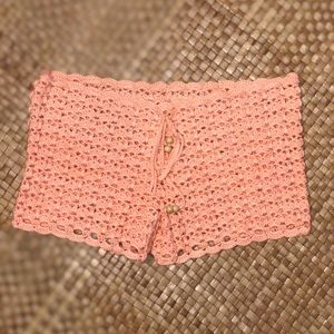 Hand crochet shorts